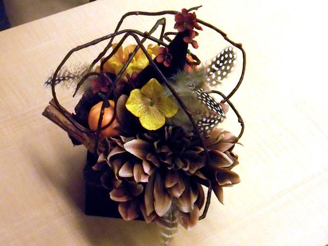 収穫の秋~ハロウィンアレジメント~