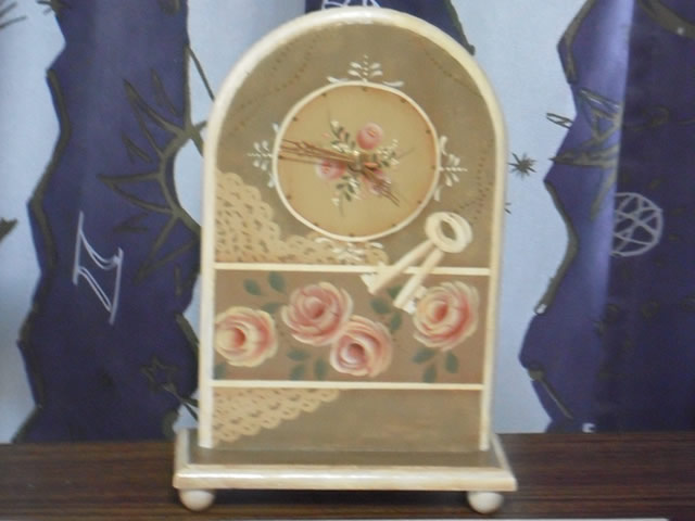 Rose Clock~薔薇の置時計~
