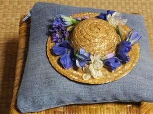 麦わら帽子Ver.1「青」