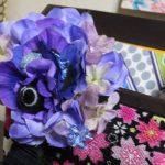 菫色のコサージュ(改)
