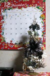 クリスマスツリー(ゴールド)