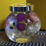 ハーバリウム(ねこ瓶)「 初めてのオリジナル作品」