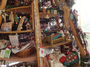カントリークリスマス 店内にあるツリー