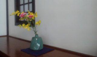 札幌かに本家「個室に飾ってあった花(2019/1/12)」