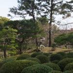 広島・縮景園 庭