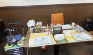 cafe航路・ハーバリウムボールペン作成ワークショップ