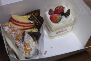 カントリークリスマス「ショートケーキ3種」
