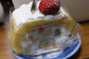 カントリークリスマス「フルーツのロールケーキ」