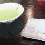 城南亭「抹茶(冷茶)セット」