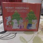 カントリークリスマスのエンジェルシフォンの箱横から