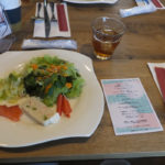 至福のフルーツパフェ物語 コース料理「前菜」