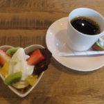 至福のフルーツパフェ物語 コース料理「ミニパフェとアフターコーヒー」
