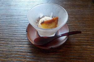 亀泉「松花堂ランチ」のデザート