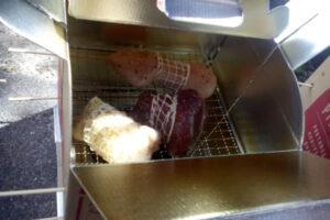 ダンボールオーブンで作る!ロースト肉三昧