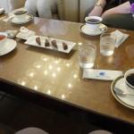 岡崎ニューグランドホテル 喫茶室にて(2015/5/1)