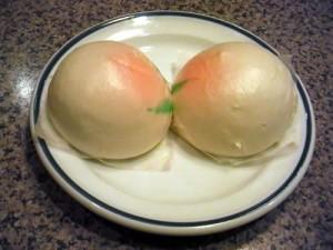 五十番「桃饅頭」