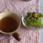 BLUE BLUE CAFE「ランチのサラダとスープ」(2018/12/6)