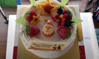 カントリークリスマス クリスマスケーキ(2017/12/23)