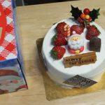 カントリークリスマス クリスマスケーキ・エンジェルシフォン(2016/12/23)