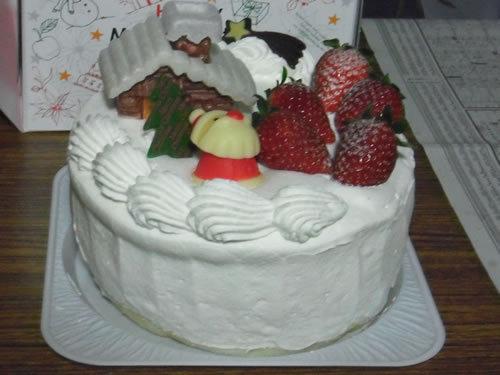 カントリークリスマス「クリスマスケーキ」