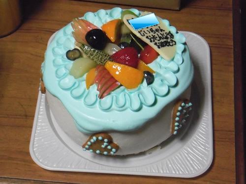 カントリークリスマス「要予約なバースデーケーキ」