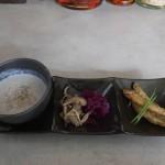 エキュメ「ランチセットの前菜とスープ」