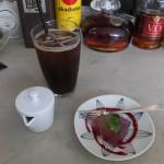 エキュメ「ランチセットのドリンクとプラスのミニデザート」