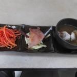 エキュメ「ランチセットの前菜3種盛り(2014/12/30)」