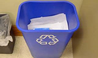 リサイクル用ごみ箱