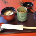 金沢 東茶屋街へ 町屋カフェのぜんざい(2018/12/8)