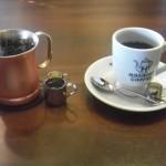 星乃珈琲「アイスコーヒーとホットコーヒー」
