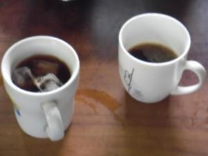 急冷ドリップ式で作ったアイスコーヒー