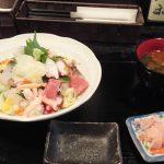 いち「お昼限定・海鮮ばらちらし(2017/4/5)」