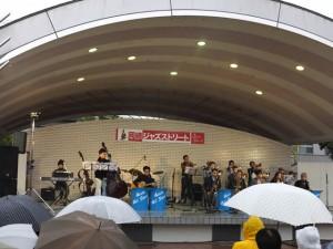 岡崎ジャズストリート(2015/11/8)籠田公園・野外ステージ