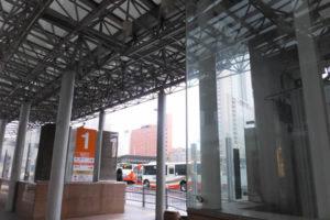 石川県金沢市 金沢駅バス乗り場(2018/12/8)