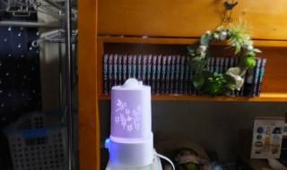 Fivanus アロマディフューザー 卓上加湿器 超音波式 彫り工芸デザイン 1500ml