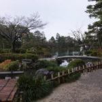 兼六園 庭園の様子1(2018/12/8)