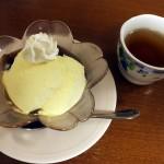 cafe航路「ランチセットのミニデザート・コーヒーゼリー」