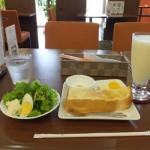 cafe 航路「サラダモーニングとミックスジュース」