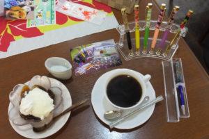 cafe航路「ランチのデザート・ドリンクセット(2018/12/27)」