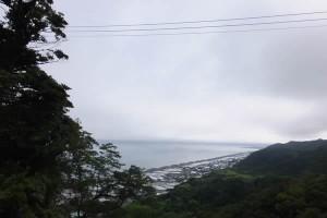 久能山から見た駿河湾(2016/7/27)