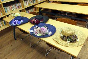 夏の帽子飾り 暮らしの学校みんなの作品