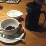 cafe mitte「プレスコーヒーにトッピング」