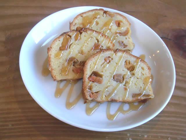cafe mitte「柿のパウンドケーキ(131123)」