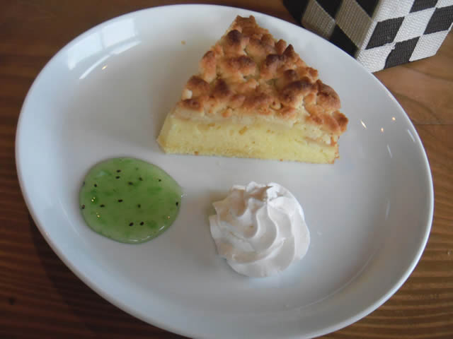 cafe mitte「シュトロイゼル・クーヘン」