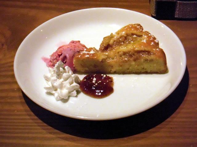 cafe mitte「イチジクのしっとりケーキ」