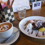 cafe mitte「チョコケーキとホットチョコレート(2017/2/12)」