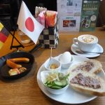 cafe mitte「レバーモーニングとヴルスト」