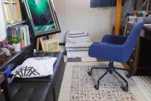 部屋の模様替え-「アトリエ兼自室 インド製絨毯・ZOLLANVARI GABBEH(ゾランヴァリギャッベ) (2017/3/19)」