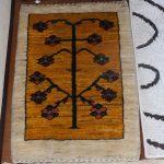 部屋の模様替え-「アトリエ兼自室 イラン製絨毯・ZOLLANVARI GABBEH(ゾランヴァリギャッベ) (2017/3/23)」